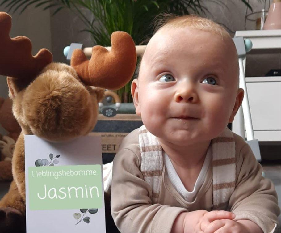 Sina Mit Jasmin haben wir uns aber im Umgang mit unserem kleinen Schatz immer sicher gefühlt.