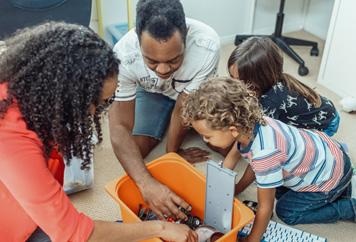 Ordnung im Babyzimmer: richtig einrichten und organisieren